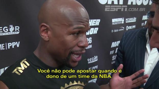 Mayweather diz que vai comprar um time da NBA no futuro