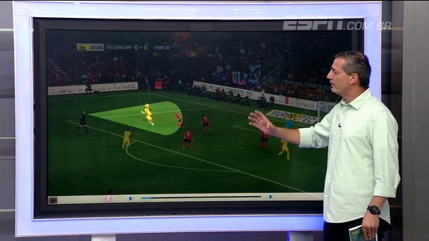 Sálvio espera árbitros com posicionamento especial por Neymar e avalia pedido de pênalti contra o Guingamp