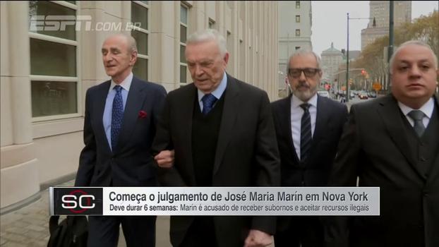 Começa o julgamento de José Maria Marin, acusado de receber suborno e aceitar recursos ilegais