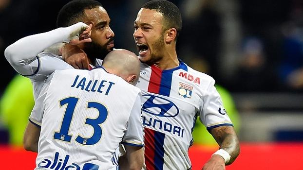 Francês: Gols de Lyon 5 x 0 Metz