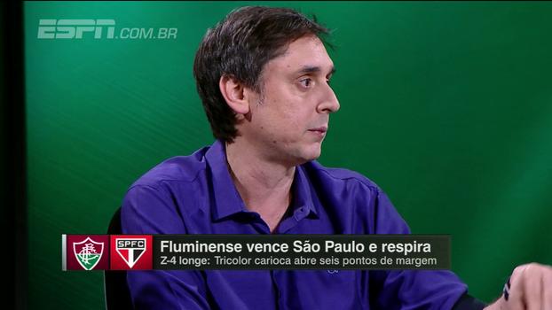 Tironi desaprova escalação de Dorival contra o Flu: 'O São Paulo precisa de jogador grande nessa hora'