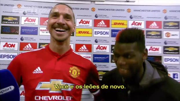 Perguntado se temia nunca mais ter voltado a jogar, Ibrahimovic arranca risadas com resposta: 'Leões não se recuperam como os humanos'