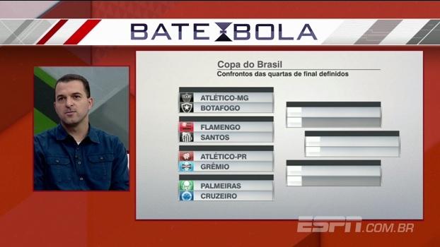 Para Zé Elias, Atlético-MG e Paranaense terão vida mais difícil nas quartas da Copa do Brasil
