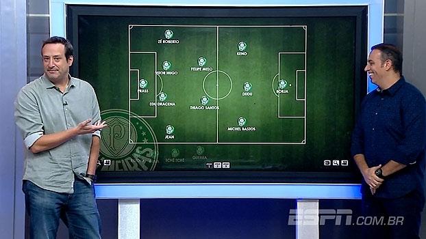 Edu de Meneses e Gian Oddi escalam Palmeiras contra o Jorge Wilstermann