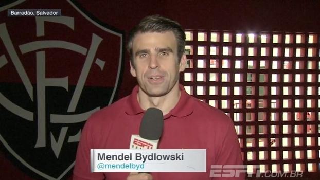 Santos chega a marca de cinco jogos sem sofrer gol; Mendel Bydlowski conta como foi a partida contra o Vitória