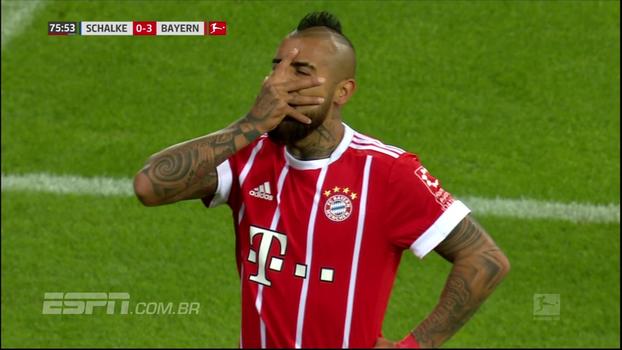 Veja os gols de Schalke 0 x 3 Bayern de Munique