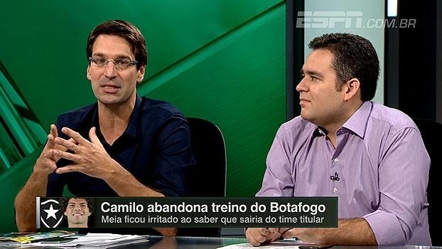 Arnaldo: 'Atitude do Camilo é de jogador mimado; coloca em cheque o comando de Jair'