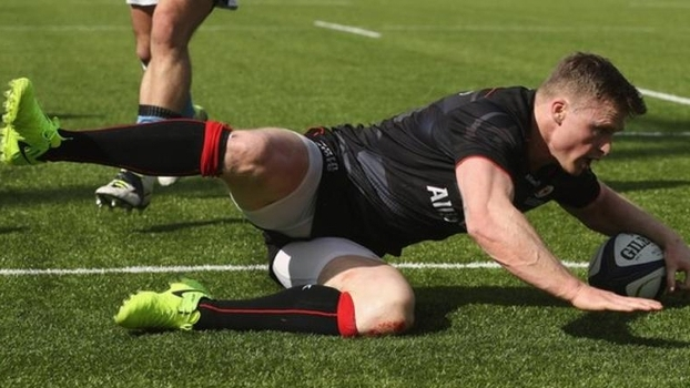 Atuais campeões, Saracens vencem Warriors e estão na semi do Europeu de rugby pela 5ª vez seguida