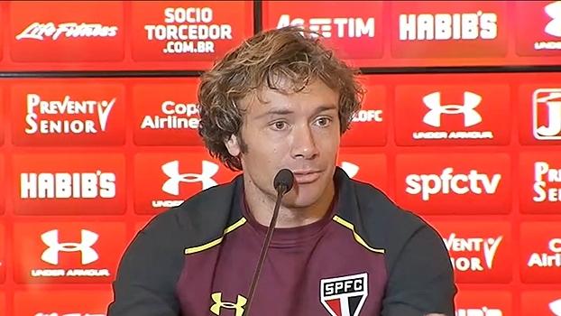 'Dentro do São Paulo só escutei coisas boas sobre ele', diz Lugano sobre Pato