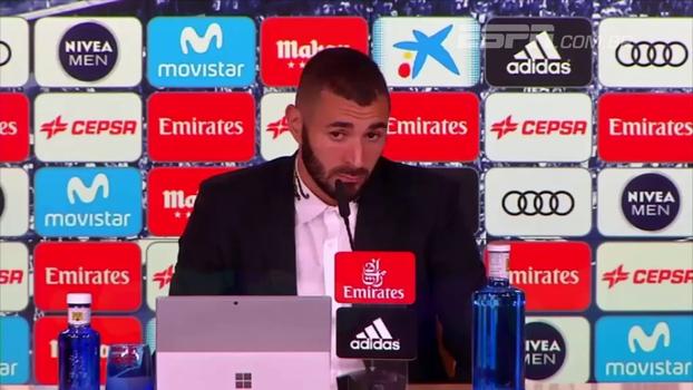 Benzema confirma vontade de voltar a jogar pela seleção francesa e cita trabalho forte no Real: 'Não vou desistir'