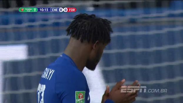 Tempo real: Quase! Batshuayi finaliza, e a bola passa perto do gol do Nottingham
