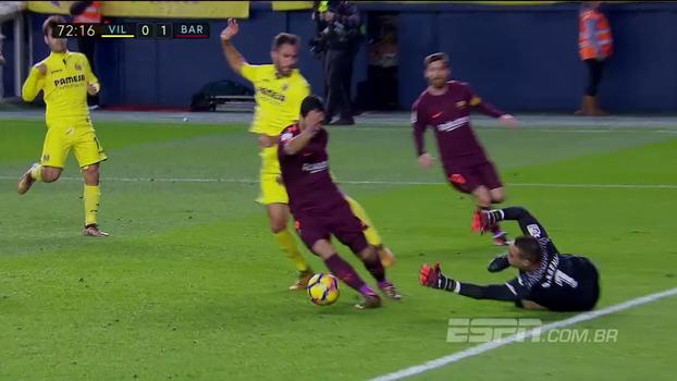 Assista aos melhores momentos da vitória do Barcelona sobre o Villarreal por 2 a 0!