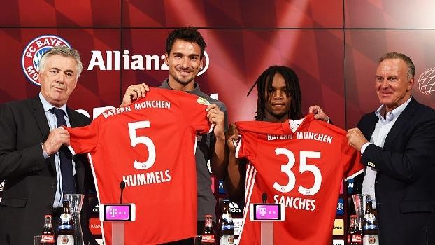 Bayern apresenta Sanches e Hummels; assista