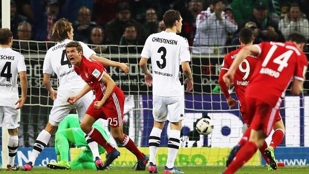 Assista aos melhores momentos de Borussia Monchengladbach 0 x 1 Bayern de Munique