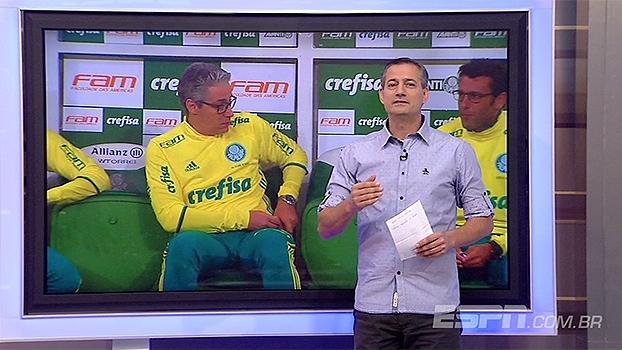 Sálvio comenta ponto eletrônico usados por auxiliares do Palmeiras: 'Vai para o tribunal'