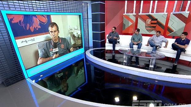 Gilmar Popoca, técnico da base do Flamengo, fala sobre o garoto Vinícius Jr.: 'Potencial riquíssimo'