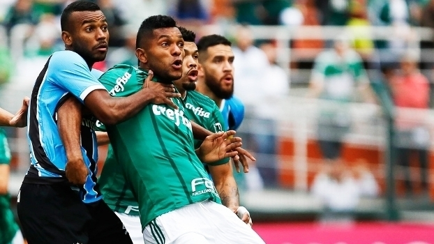 Brasileiro: Gol de Palmeiras 1 x 0 Grêmio