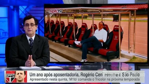 Antero Greco fala sobre Rogério Ceni, agora técnico: 'Discurso me agradou muito'