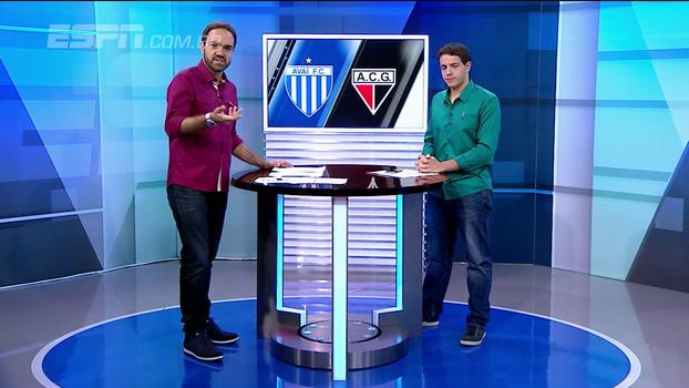 Boas trocas de passes e movimentação: Rafael Oliveira disseca vitória do Atlético-GO diante do Avaí