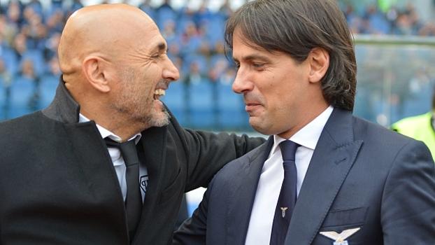 'O dérvi vale o triplo', diz Spalletti; Inzaghi joga favoritismo para a Roma