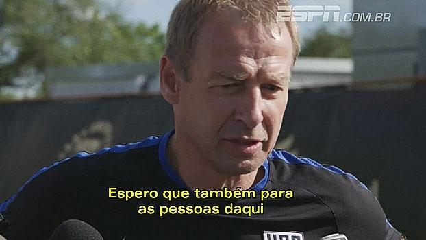 Antes da partida contra Cuba, Klinsmann comenta chance de conhecer país: 'Experiência maravilhosa'