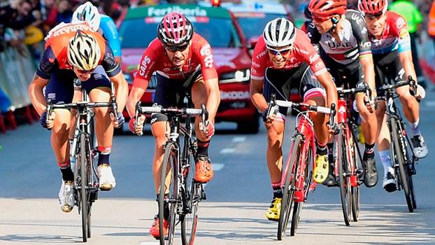 Veja como Thomas De Gent venceu a 19ª etapa da Volta da Espanha