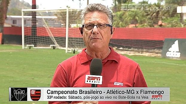 'Um dos principais interesses do Fla para 2017 é Felipe Melo'; Cícero traz informações