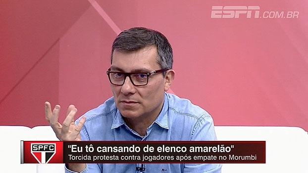 Tironi e Calçade falam sobre 'missão' de Ceni no São Paulo: 'Se ele ouviu isso, ele está tranquilo'