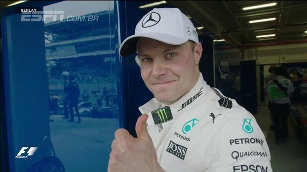 Acidente de Hamilton, Bottas na pole e Massa em 9º; veja resumo dos treinos da F1