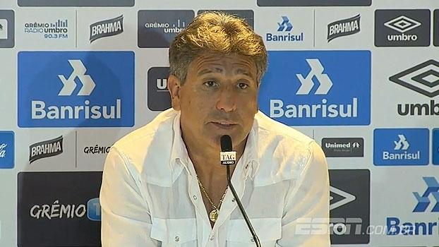 Após empate com o Veranópolis, Renato Gaúcho critica: 'Essas equipes não querem jogar'