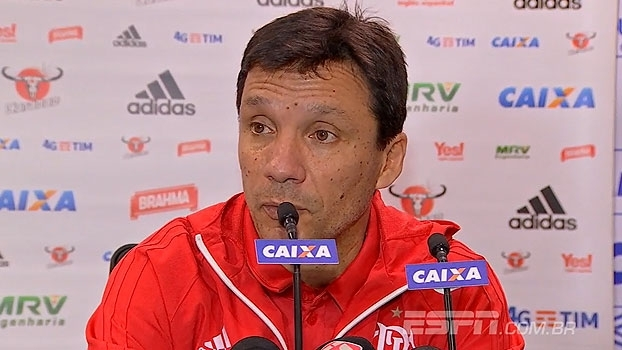 Zé Ricardo revela que 'espera mais' do Fla: 'Não estamos satisfeitos com a performance'