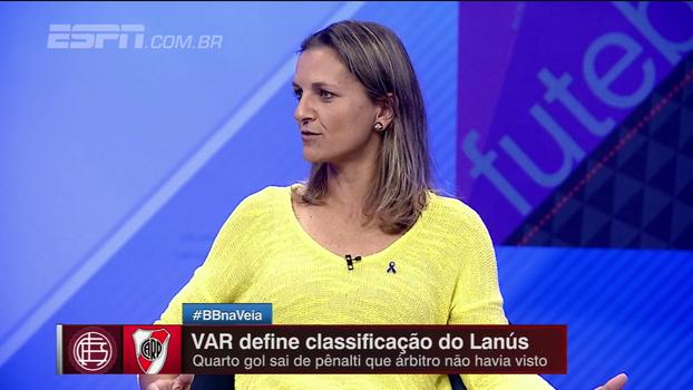 Veja debate sobre arbitragem de vídeo; Ju Cabral: 'Precisa estar muito claro o que é; decisão do árbitro ou ajuda?'
