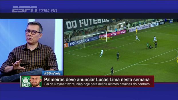 Calçade diz que Lucas Lima precisa mudar forma de jogar no Palmeiras: 'Ele tem que entender que ele é um jogador integral'