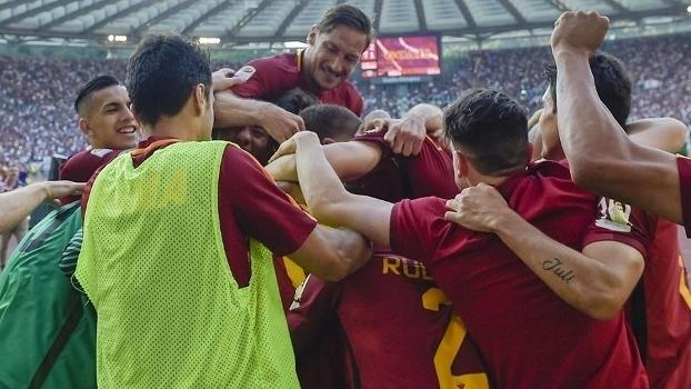 Italiano: Gols de Roma 3 x 2 Genoa