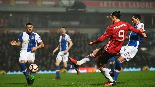 Copa da Inglaterra: Melhores momentos de Blackburn 1 x 2 Man. United