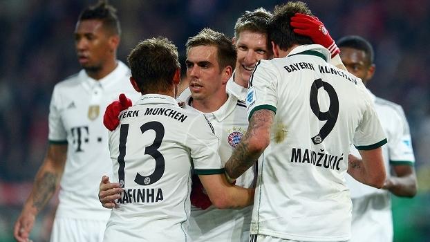 c3a4f88010 Veja os melhores momentos de Hannover 0 x 4 Bayern de Munique