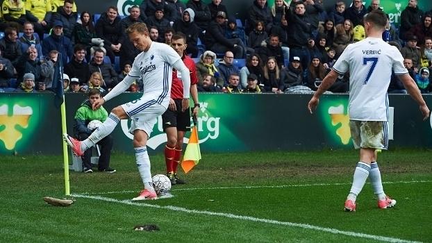 Torcedores jogam ratos mortos em jogadores do time adversário na Dinamarca; veja