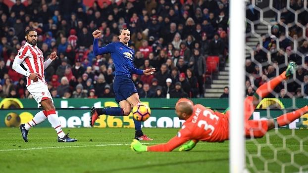Premier League: Gols de Stoke City 1 x 1 Manchester United