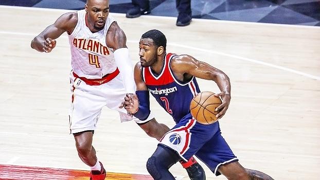 Assista aos melhores momentos da vitória do Washington Wizards sobre o Atlanta Hawks por 115 a 99