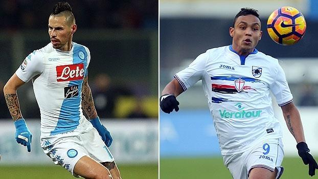 Não perca! No sábado, você vê Napoli x Sampdoria na ESPN Brasil e WatchESPN, às 17h35