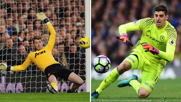 Clássico dos goleiros? Veja 10 milagres de De Gea e Courtois por Manchester United e Chelsea