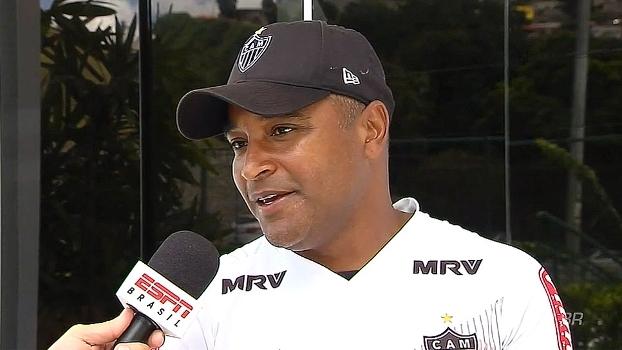 Roger comenta construção do elenco e clássicos com Cruzeiro: 'Haverá outros e a sorte vai ser diferente'