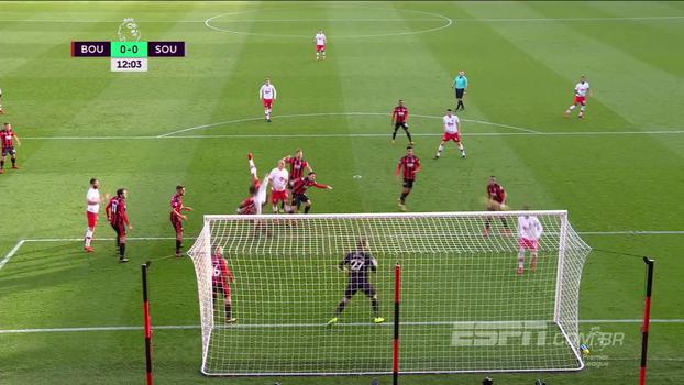 Na parte de baixo da tabela, Southampton arranca empate de Bournemouth