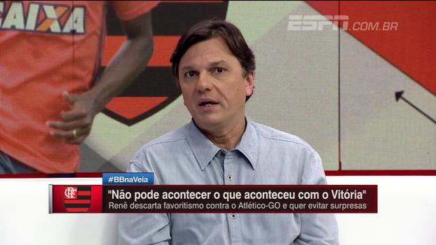 Lincoln, Berrío, time reserva ou titular? Mauro avalia opções de Rueda contra o Atlético-GO