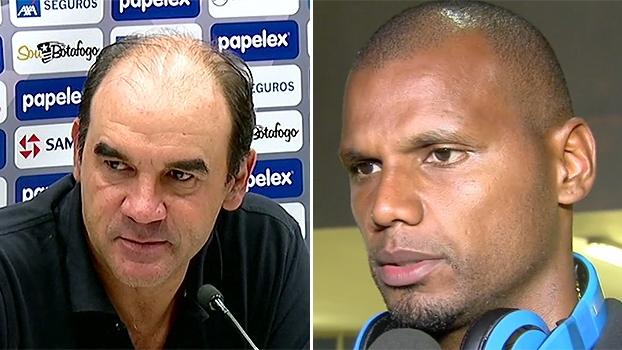 Ricardo Gomes diz que decidirá futuro na terça-feira; Jefferson elogia: 'Gostaria que ficasse'