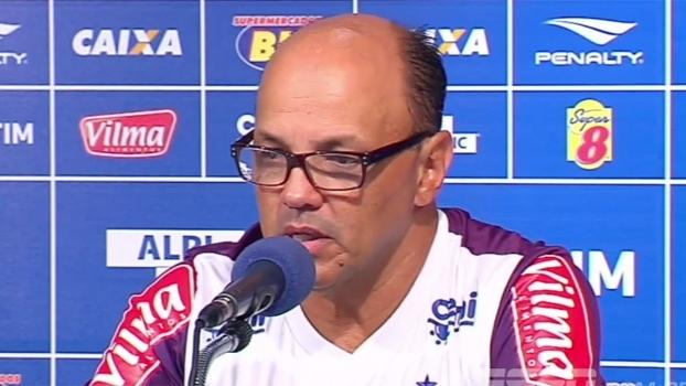 Geraldo Delamore assume a culpa por lesão de Robinho no Cruzeiro