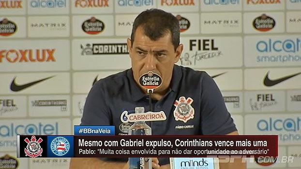 Carille revela substituto de Gabriel e aponta erros do Corinthians após vitória
