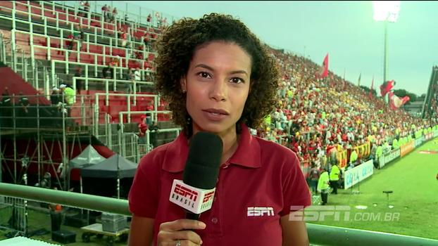 Pressão grande no Flamengo causou briga até mesmo com vitória tranquila; Débora Gares conta como foi