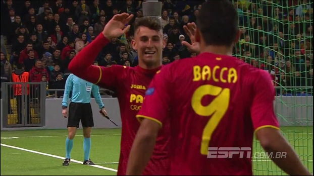 Europa League: Gols de Astana 2 x 3 Villarreal