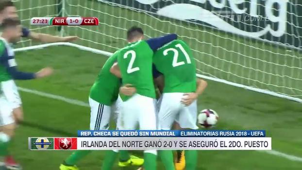 Assista aos gols da vitória da Irlanda do Norte sobre a República Tcheca por 2 a 0!